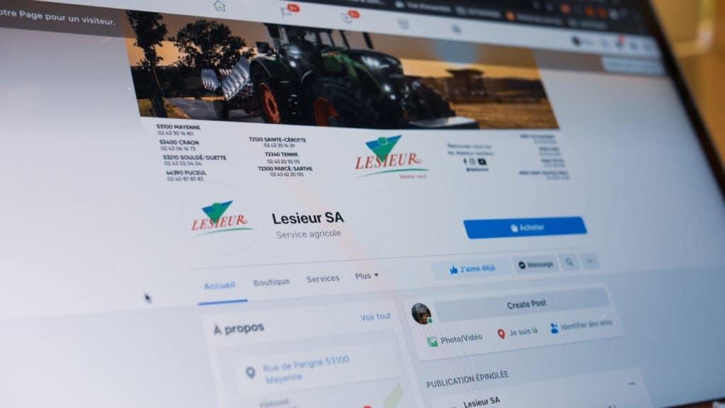 Facebook Lesieur SA